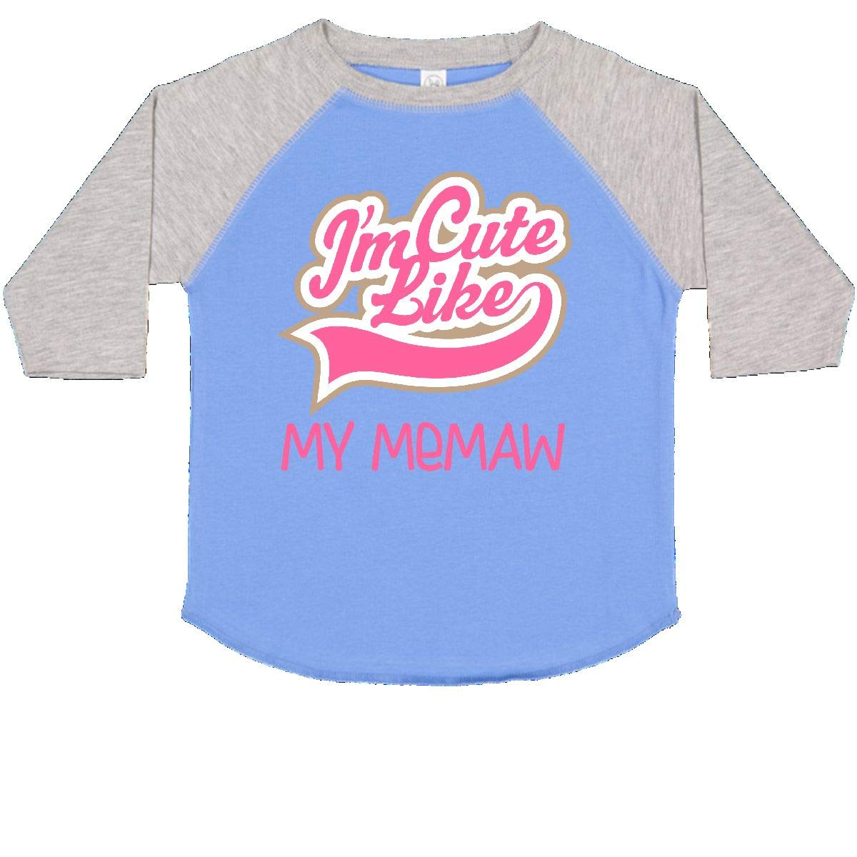 inktastic Cute Like My Memaw Toddler T-Shirt