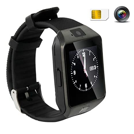 Hangang Bluetooth Smart Watch Kids Watch Touch Screen Smart Wrist Watch Smartwatch Phone Camera Pedometer Sport Tracker for iOS & Android Samsung ...