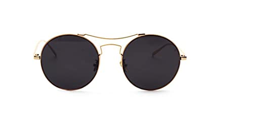 Lentes Reflectante Gafas De Sol Gafas De Sol Redondas Retro Calle De La Moda Disparar Personalizados