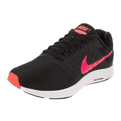 Nike 852466-008: Women's Black/Racer Pink Downshifer 7 Sneakers (8 B(M) US Women) | Road Running