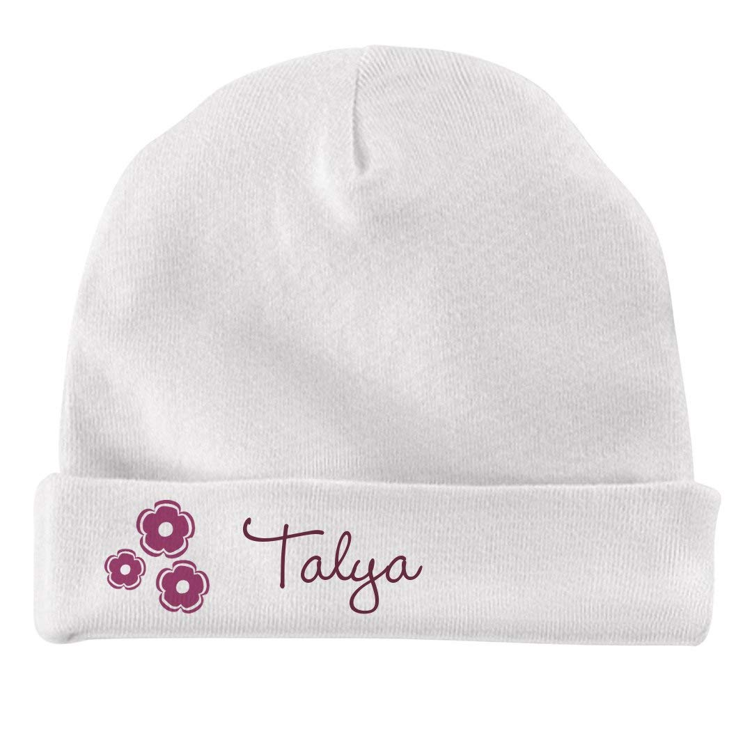 FUNNYSHIRTS.ORG Baby Girl Talya Flower Hat Infant Baby Hat