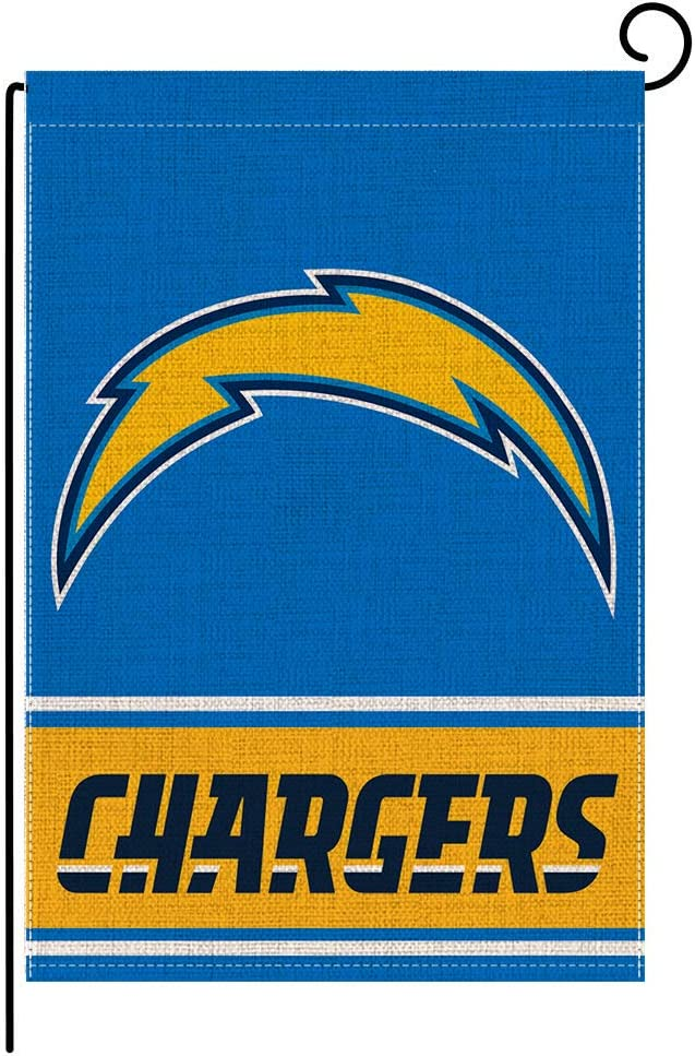 Garden Flags Double Sided 12.5 x 18 Inch, American Football Teams Pattern House Yard Sports Burlap Flags Decoration for Indoor Outdoor AG-34