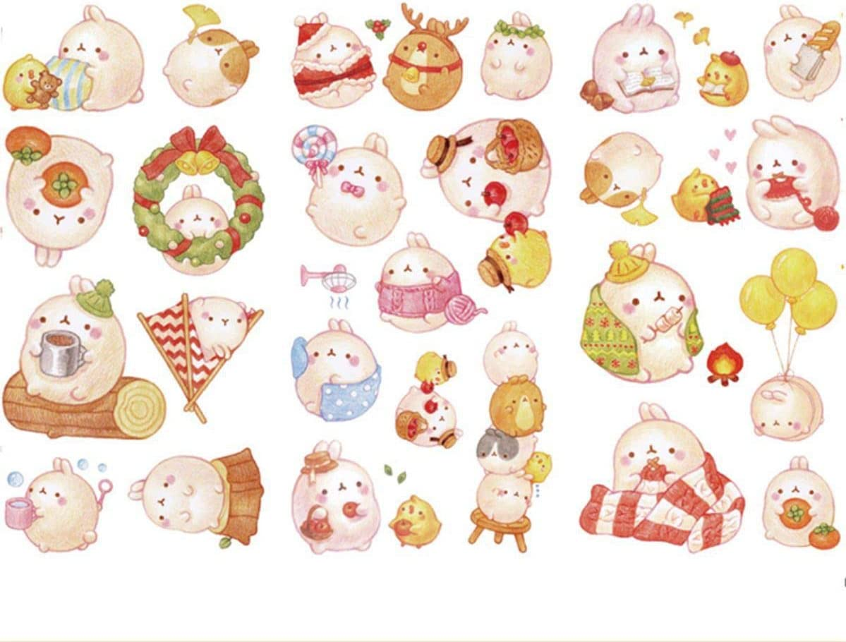 Patrón: Molang y Piu Piu amigurumi 2 – Mila Crochet | 917x1199