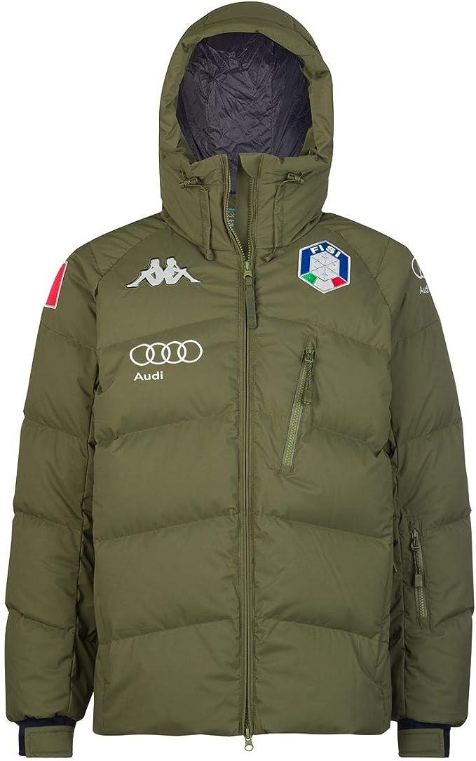 maglia fantasma Parziale  Kappa 6CENTO 662 Fisi, Giacca Uomo Sci/Snowboard Federazione Italiana Sci:  Amazon.it: Abbigliamento
