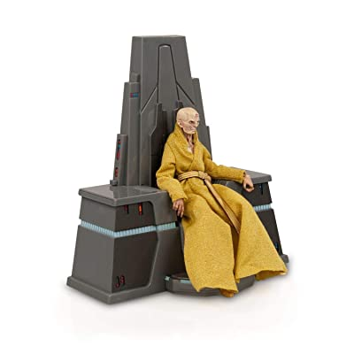 Star Wars Supreme Leader Snoke Figure From The Black Series | Fully Poseable 6-Inch Action Figure Comes With Exquisite Features | Highly Detailed: Toys & Games [5Bkhe1107419]