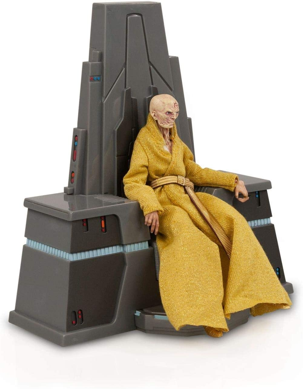 Star Wars Supreme Leader Snoke Figure From The Black Series | Fully Poseable 6-Inch Action Figure Comes With Exquisite Features | Highly Detailed