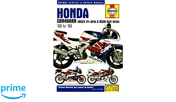 honda cbr400rr nc29 gullarm 1990 99 service and repair manual rh amazon com honda cbr400rr nc23 wiring diagram Repsol Honda CBR 400