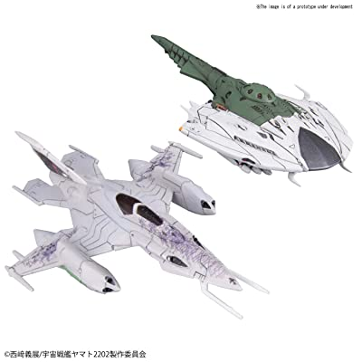 BLUEFIN Star Blazers 2202 Czvarke and Desvatator Model Kit Set: Toys & Games