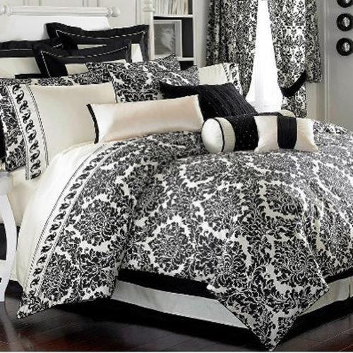 Waterford Bedding, Sheffield European Pillow Sham Black -