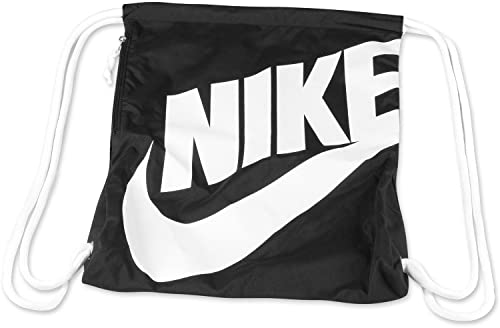 82419715b7130 Amazon.com  New Nike Heritage Gymsack Gym Red Black Hyper Crimson ...