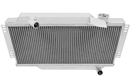 Amazoncom Champion Cooling 2 Row All Aluminum Radiator For