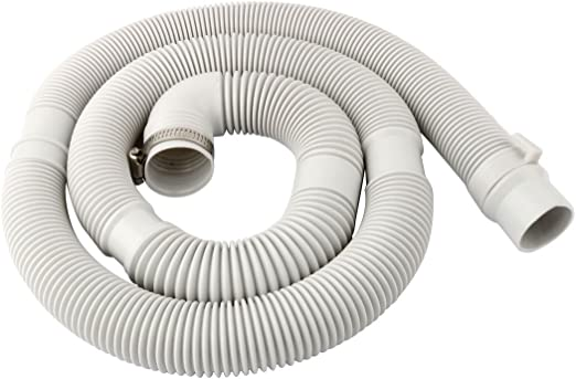 uxcell 3.3 Feet Wash Machine Inlet Hose with Clamp Fit Up To Portable Wash Machine Dishwasher Inlet Hose Replacement