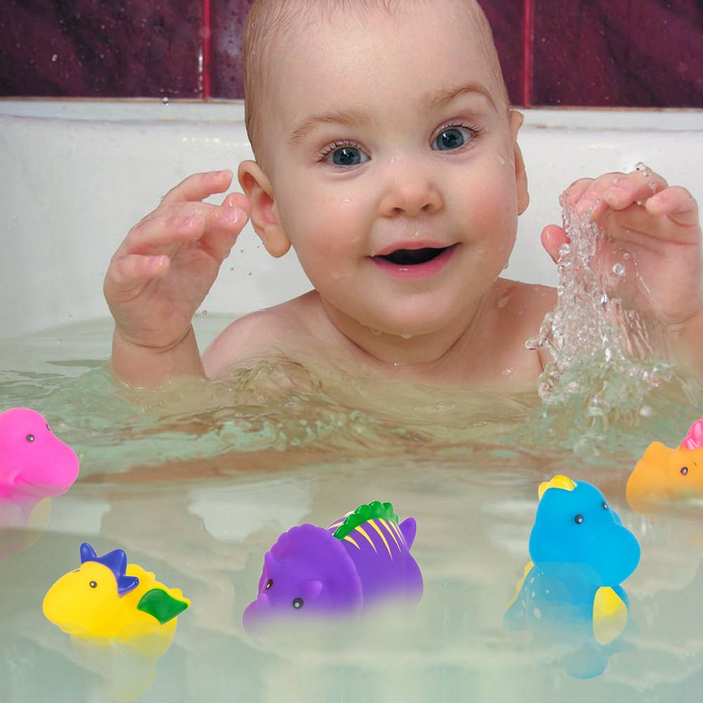 Bathtub Toys Dinosaur Water Baby Bath Toys for Toddler Days Gift ...