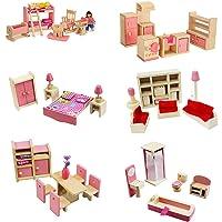 MIKI-Z 1 Set 1:12 Casa de muñecas en