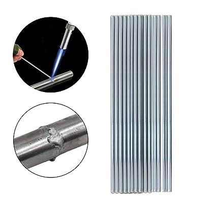 Tianya 50PCS Varilla de soldadura de baja temperatura no requiere polvo de soldadura para soldadura fuerte