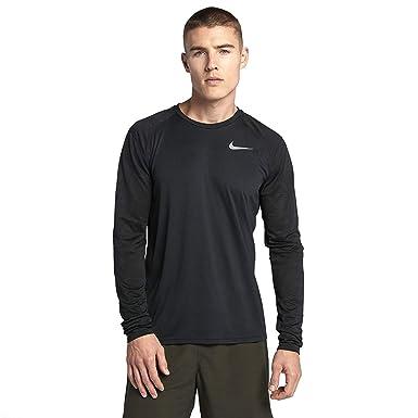 fac18ee60 NIKE Miler Long Sleeve Men's Running Top at Amazon Men's Clothing store: