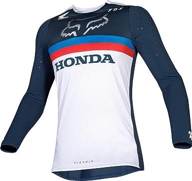 Fox Racing Flexair Honda - Camiseta de moto todoterreno para hombre - Azul - X-Large: Amazon.es: Ropa y accesorios
