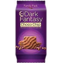 [Pantry] Sunfeast Dark Fantasy Choco Chip 350g Pack | Crunchy Chocolatey Cookies