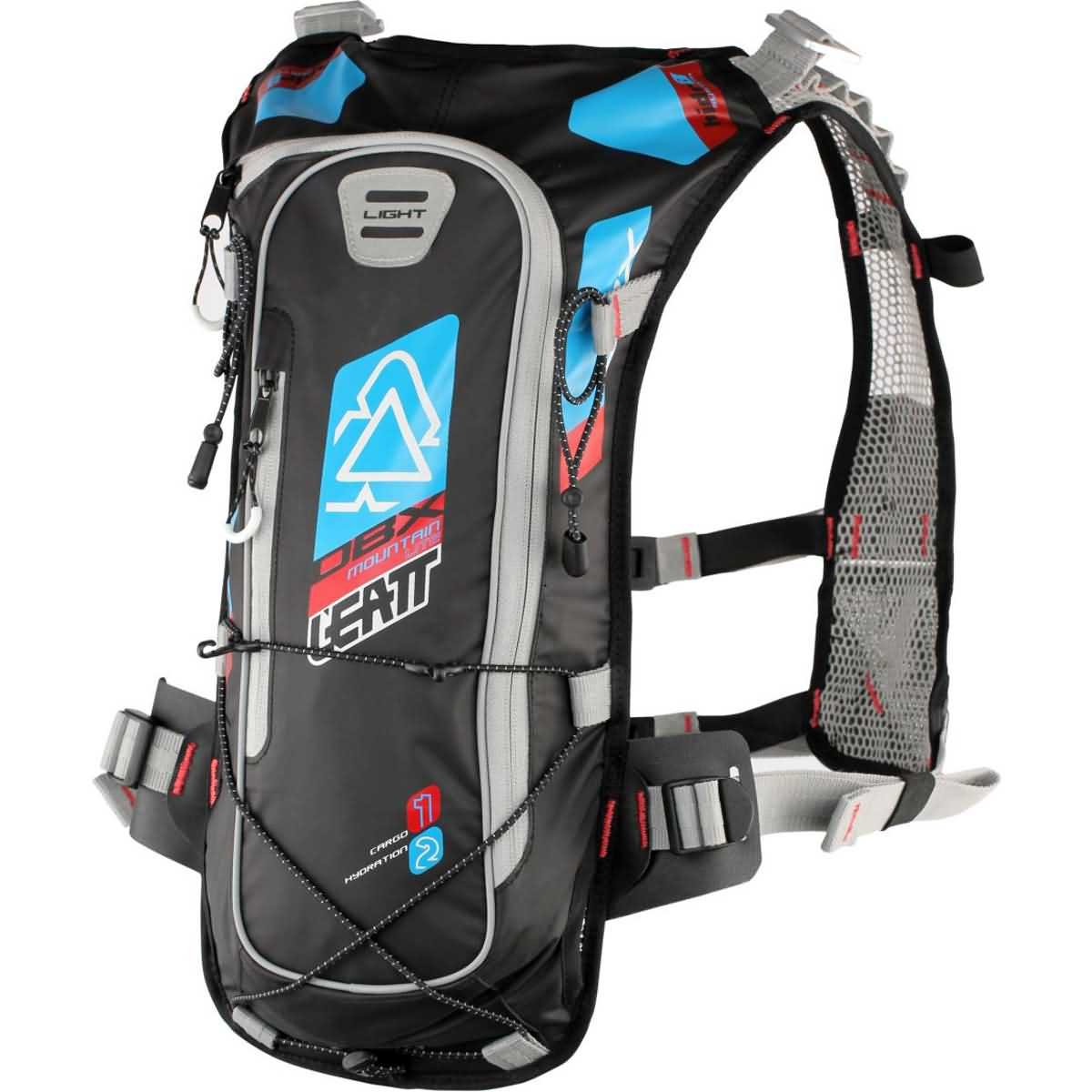 Leatt DBX 2.0 Mountain Lite Hydration Pack-Blue/Red/Black by Leatt Brace