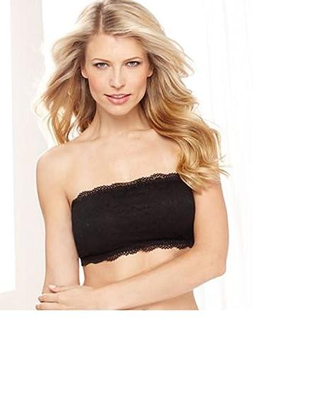 79c3c1270ff Image Unavailable. Image not available for. Color  Fashion Forms Ashion Forms  Chevron Lace Bandeau Top ...