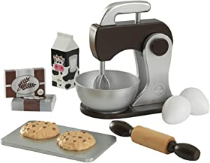 KidKraft Children's Baking Set - Espresso Role Play Toys for The Kitchen