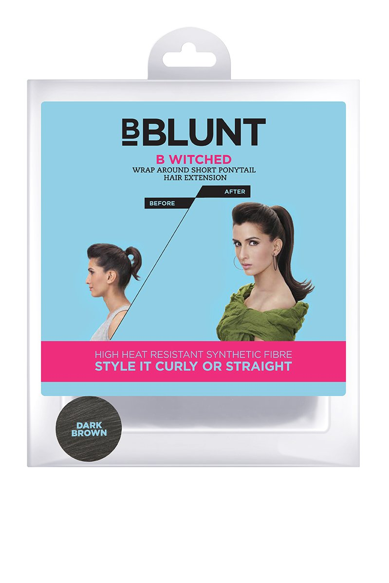 Bblunt B Witched Wrap Around Short Pony Tail Hair Extension Dark