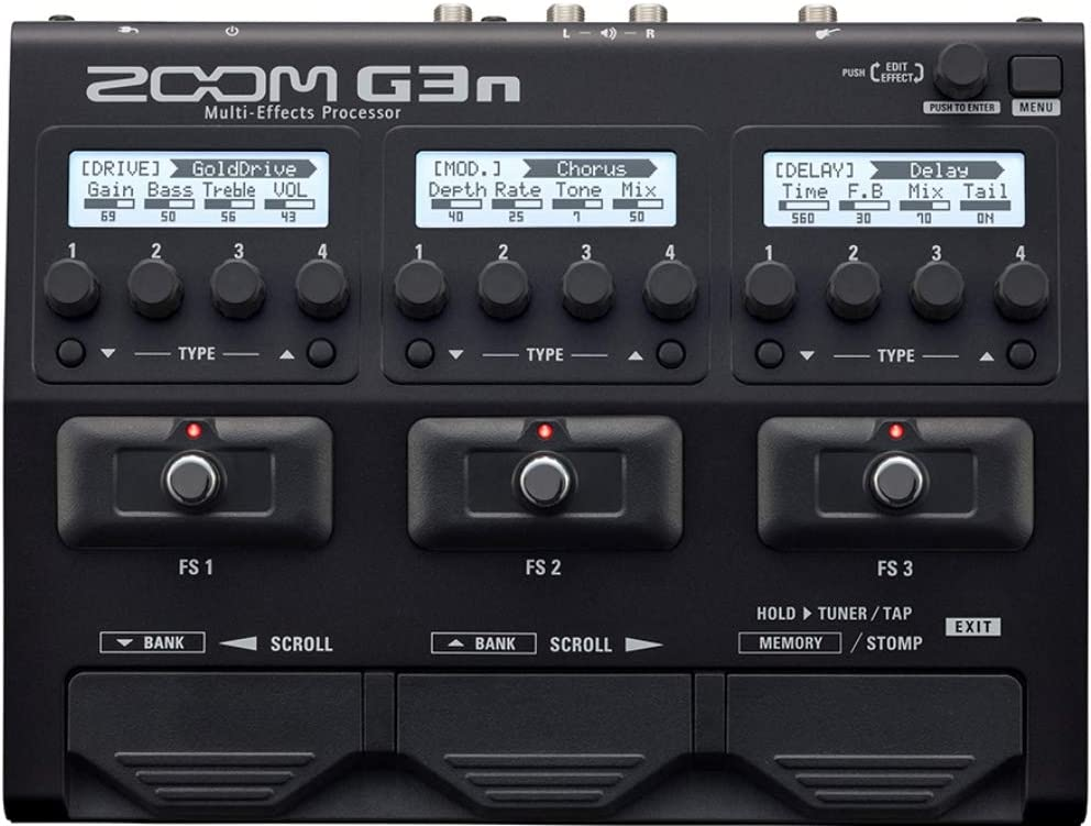 ZOOM G3N G-SERIES MULTI EFFECTS PROCESSOR FOR GUITAR