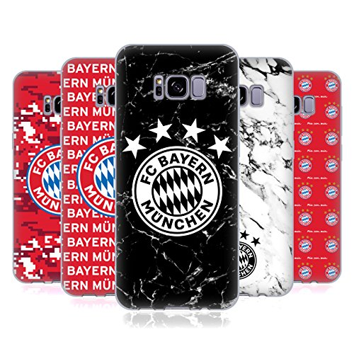Official FC Bayern Munich 2017/18 Patterns Soft Gel Case for Samsung Galaxy S8+ / S8 Plus – DiZiSports Store