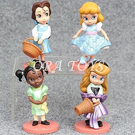 Amazon.com: 11 piezas/set mundo de fantasía Moana princesa ...