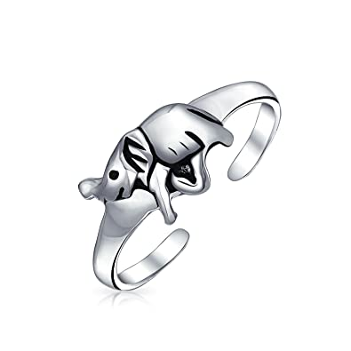 925 Adjustable Elephant Toe Ring ! Brand New ! In Short Supply Sterling Silver