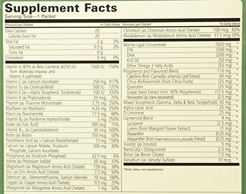 61rHLJ6AsjL - Pharmanex LifePak Nano anti-aging dietary supplement - 60 packets