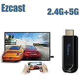 EZCast 5G ワイヤレスドングルテレビスティックDLNA HDMIミラーメディアプレーヤーサポート Iphone Android windows mac ios