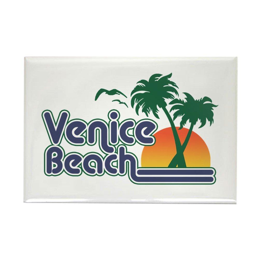"CafePress Venice Beach Rectangle Magnet Rectangle Magnet, 2""x3"" Refrigerator Magnet"