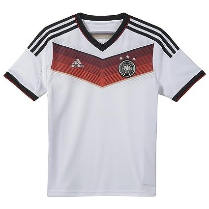 703a1829ac4 Amazon.com   Adidas DFB Germany Home Jersey Youth. (YS)   Sports Fan ...