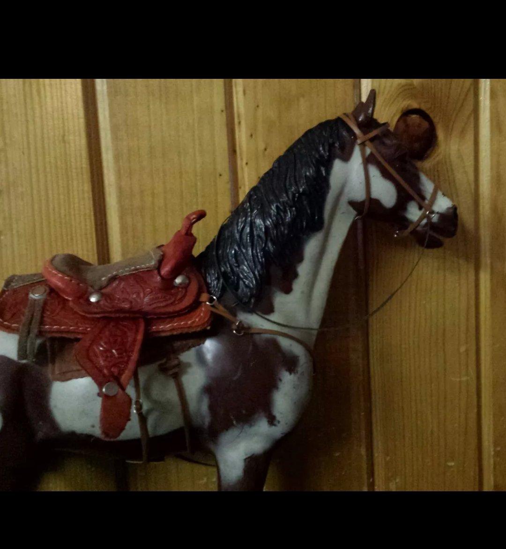 Amazon com: handmade Marx Johnny West horse saddle set made