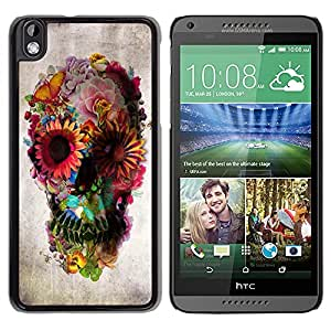 - Skull Floral Deep Metal Spring Death Deep - - Monedero pared Design Premium cuero del tir???¡¯???€????€??????????&f