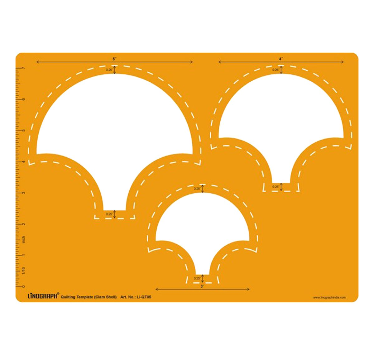 Marquise Quilting Patch Cutting And Drawing Template Stencil