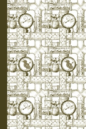 Journal: Steampunk Duck (Green) 6x9 - LINED JOURNAL - Journal with lined pages - (Diary, Notebook) (Animals Lined Journal Series)