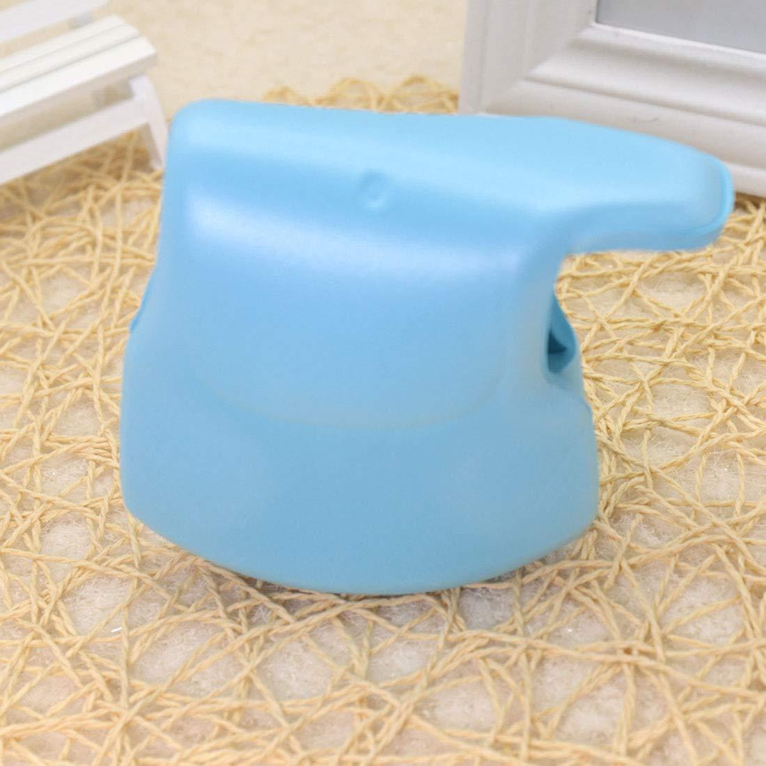 YUENA CARE 2Piece Baby Bath Spout Cover Kids Bathroom Faucet Cover Bath Toy Blue BE813-0006-2-US