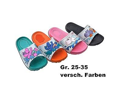 78fb101be93d7 Beco Kinder Badepantoletten Badeschuhe Kinderbadeschuhe  Kinderbadepantoletten in modischen Farben Badeschlappen Badelatschen (29,  rosa)