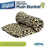 Cloudz Super Cozy Premium Plush Travel Blanket - Leopard