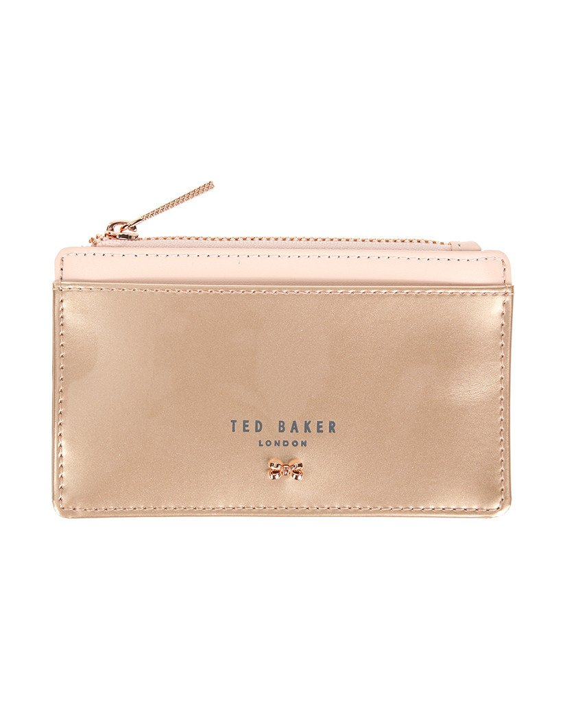 c92f50c3789 TED BAKER Roselyn Zipped Card Holder Rose Gold: Amazon.co.uk: Luggage