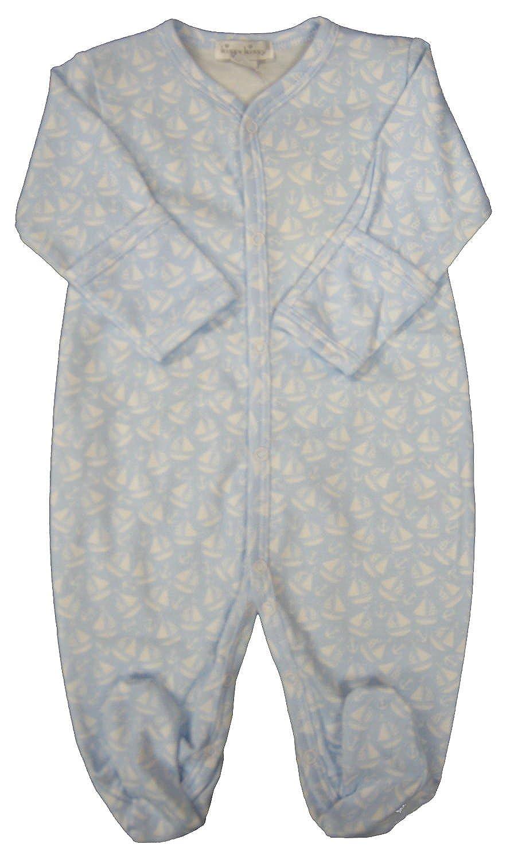 57cc6b3248d9 Amazon.com  Kissy Kissy Baby-Boys Infant Gone Sailing Print Footie ...