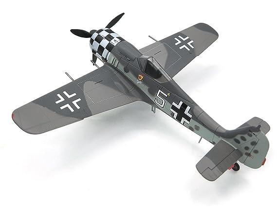 Amazon.com: WWII FW190 A-6 I./JG1 blanco 5 Uffz Rudolf HUBL ...