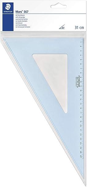 Image ofStaedtler Driehoek - Regla de geometría, azul
