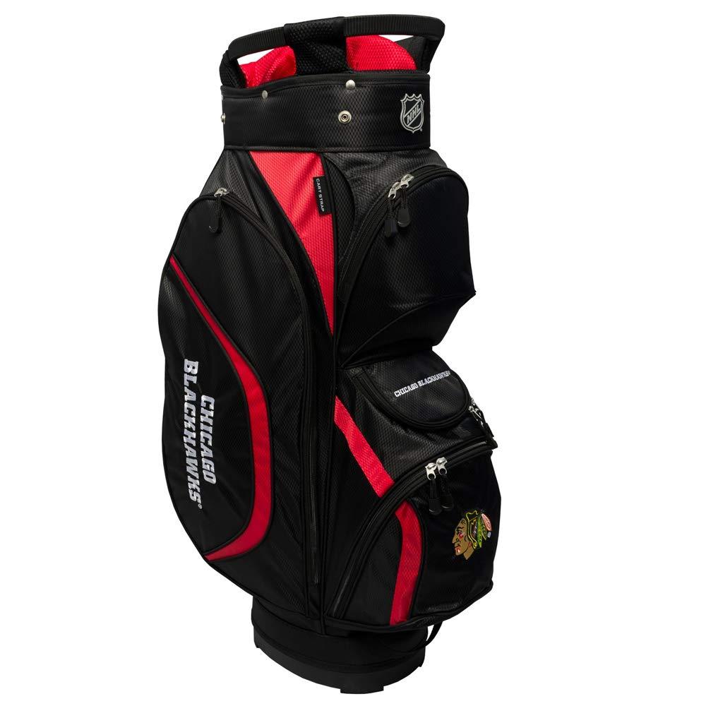 NHL Chicago Blackhawks Clubhouseゴルフカートバッグ、N / A、N / A   B01IKRCHIM