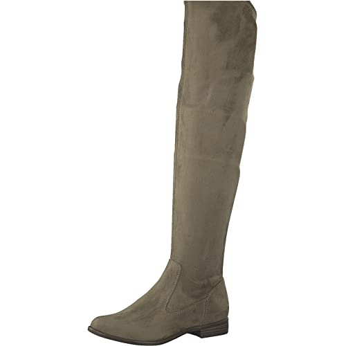 Tamaris 1 1 25569 39 Damen Stiefel, Overknee, Boot, Winterstiefel, Herbstschuh für die modebewusste Frau, funktionaler Reißverschluss