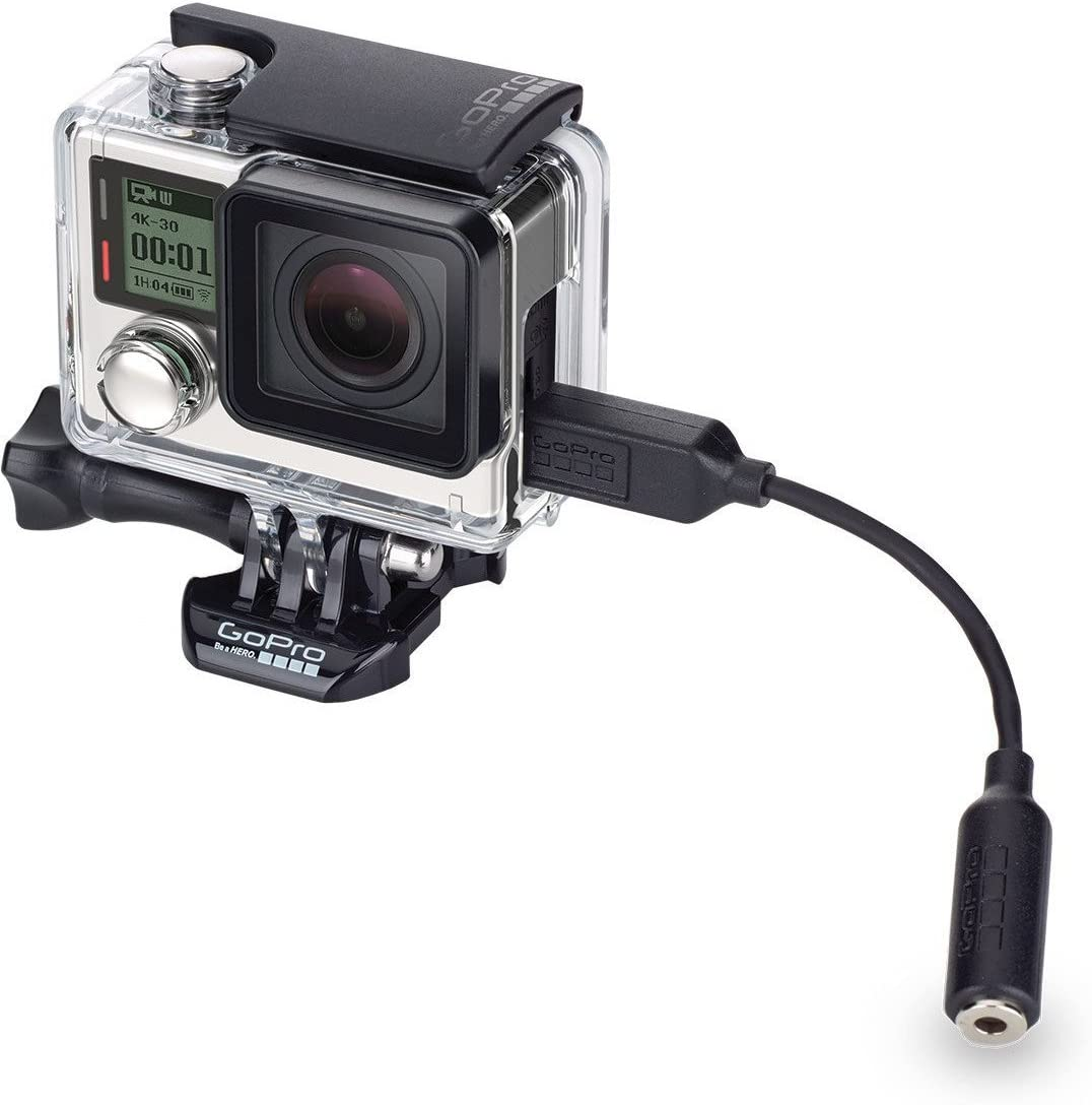 GoPro Official Accessory GoPro 3.5mm Mic Adapter