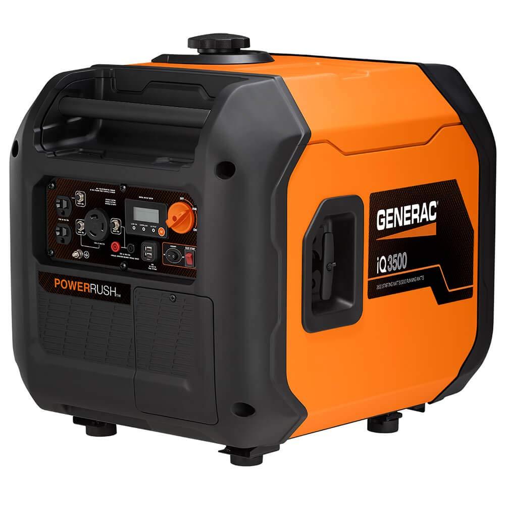Generac 7127 IQ3500-3500 Watt Portable Inverter Generator