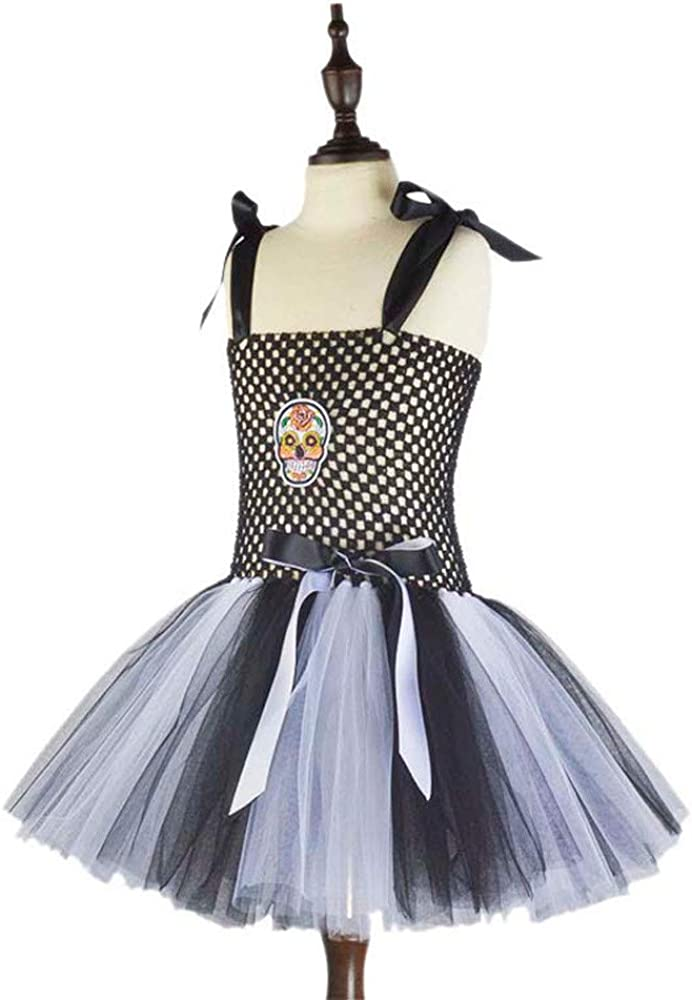 Lurryly❤Halloween Costumes for Girls Tutu Princess Dress Party Dresses Clothes Outfit 1-6T